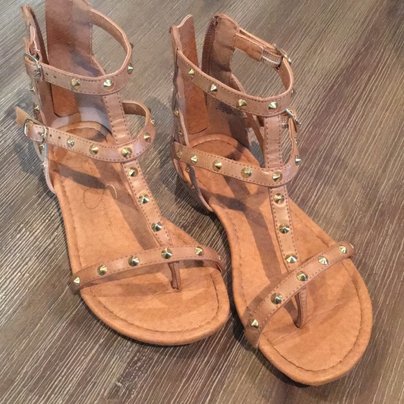 95c9262851779 Jessica Simpson Kids Other - Girl s gladiator sandals Size 13